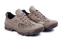 Кросівки олива шкіра crazy для риболовлі та полювання, фото 1
