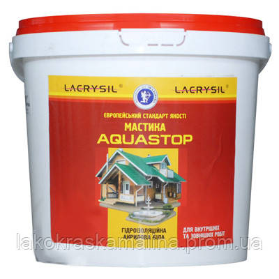 Мастика акриловая, гидроизоляционная Aquastop Lacrysil 1 кг - фото 2