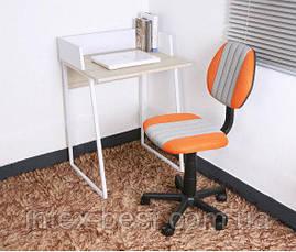 Детское компьютерное кресло FunDesk LST4 Orange-Grey, фото 2