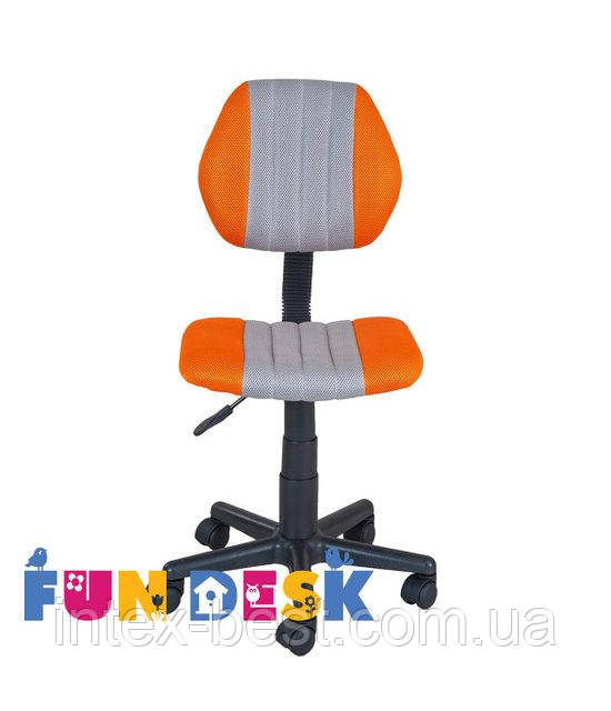 Детское компьютерное кресло FunDesk LST4 Orange-Grey