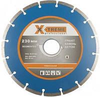 Диск алмазный по бетону X-Treme Segment 230x7x22.23мм