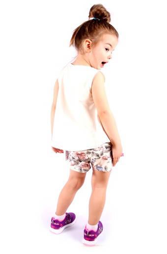 Стильный комплект: маечка и шорты Италия размер 2-12