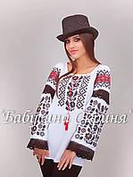 Заготовка Борщівської жіночої сорочки для вишивки нитками/бісером БС-106