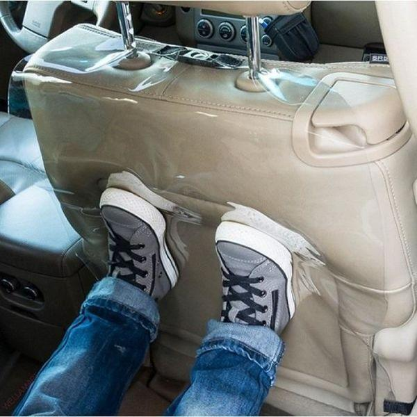 Защитная накидка на спинку сидения в автомобиль - защитный чехол