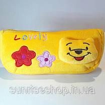 Детская косметичка-кошелёк плюш, фото 3