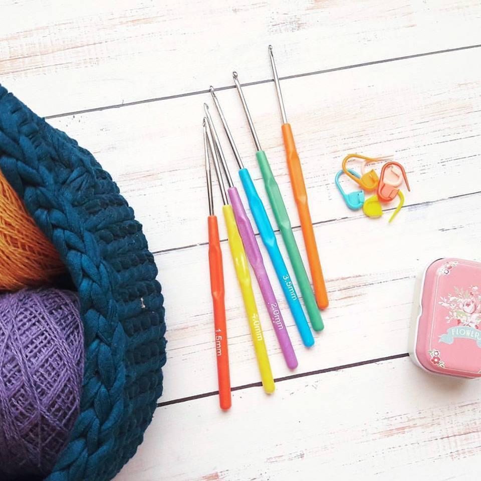 Набор крючков для вязания, 6 шт