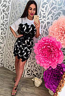 Женское красивое платье с кружевом (2 цвета), фото 1
