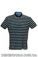 Футболка-поло мужская LE GUTTI 368-01 тёмно-синяя, фото 1