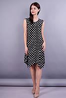 Дейзи. Стильное женское платье. Горох.