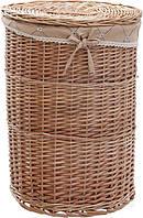 Корзина плетеная с текстилем 45x60 см HQ10-224-1