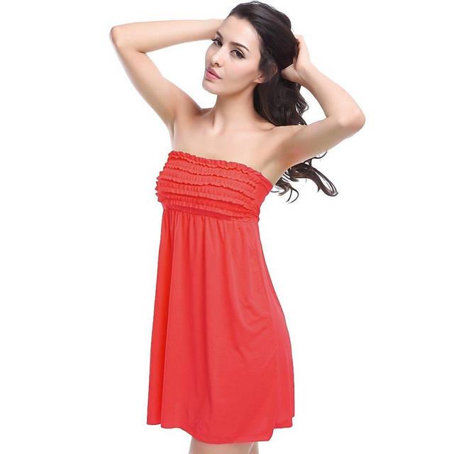 Пляжное платье с резинкой AL6379, фото 7