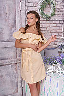 """Женское платье """"Колинсо"""" (желтый)"""