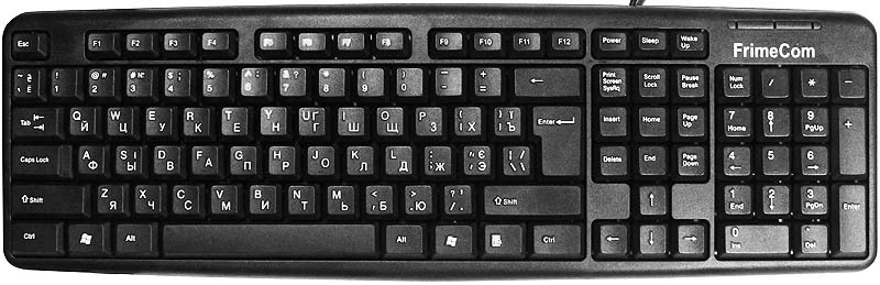 Клавиатура FrimeCom FC-836-USB,Black