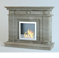 Каминный портал из мрамора Empire Daino Reale
