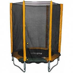 Батут KIDIGO 140 Safety Net 140 см. с защитной сеткой