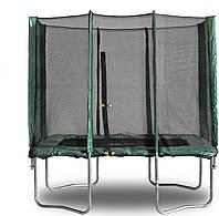 Прямоугольный батут KIDIGO™ 215 х 150 см. с защитной сеткой BT215-150