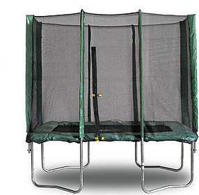 Батут KIDIGO 215x150 Safety Net с защитной сеткой