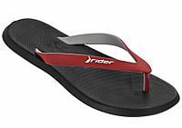 Мужские вьетнамки Rider R1 Black\Red 10594-24063