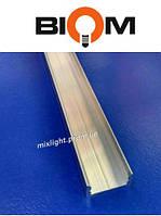 Профиль накладной для led ленты Biom 2 метра анодированный