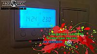 Терморегулятор для теплых полов (два датчика)