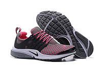 Кроссовки женские  Nike Air Presto TP QS Flyknit Grey Pink W
