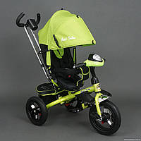 Трехколесный велосипед Best Trike 6590 с Фарой и Большими надувными колесами
