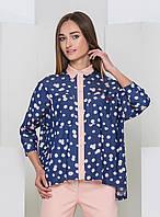 Стильная блузка в горошек With Pepper