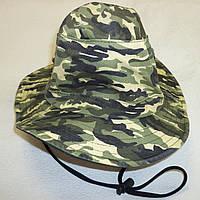 "Шляпа летняя для мальчика ""Хаки"""