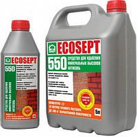 Средство для удаления минеральных выссолов (1л) ECOSEPT 550