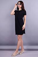 Ралли. Женское платье. Черный., фото 1