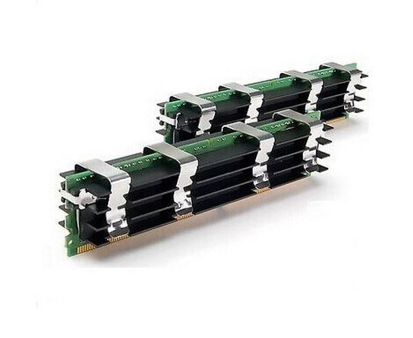"Память Komputerbay 8GB(4GBx2) DDR2F 800MHz DIMM ""Over-Stock"" Б/У"