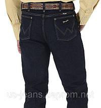 Джисы Wrangler Slim Fit Silver Edition Dark Denim, фото 3