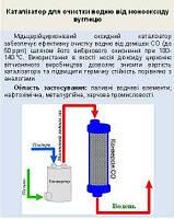 Катализатор очистки водорода от монооксида углерода (СО)