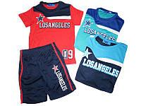 Летние комплекты для мальчиков (футболка + шорты) футбольная форма 4,6,8,10,12 лет из Венгрии., фото 1