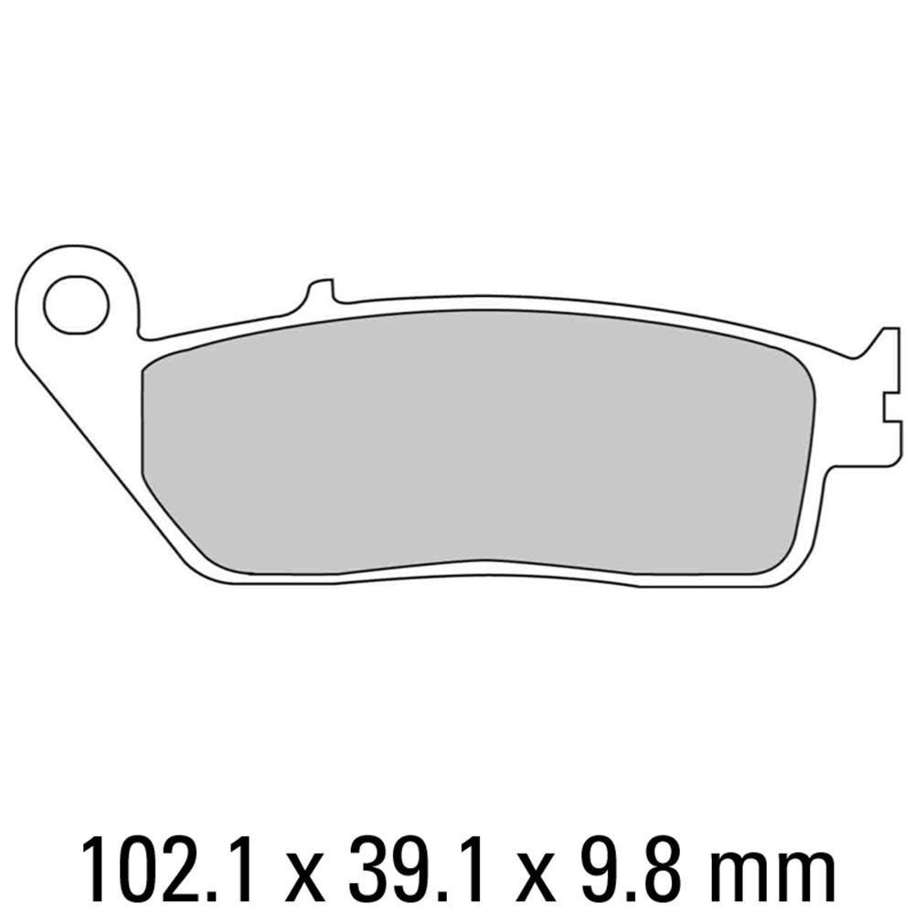 Комплект тормозных колодок Ferodo Platinum FDB664P