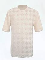 Мужская вязаная футболка 20303