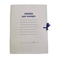 Папка архивная, картон, А4 (0,4мкм) на завязках, BM.3357