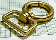 Карабин (Италия) (О) металл (матовый, золото)