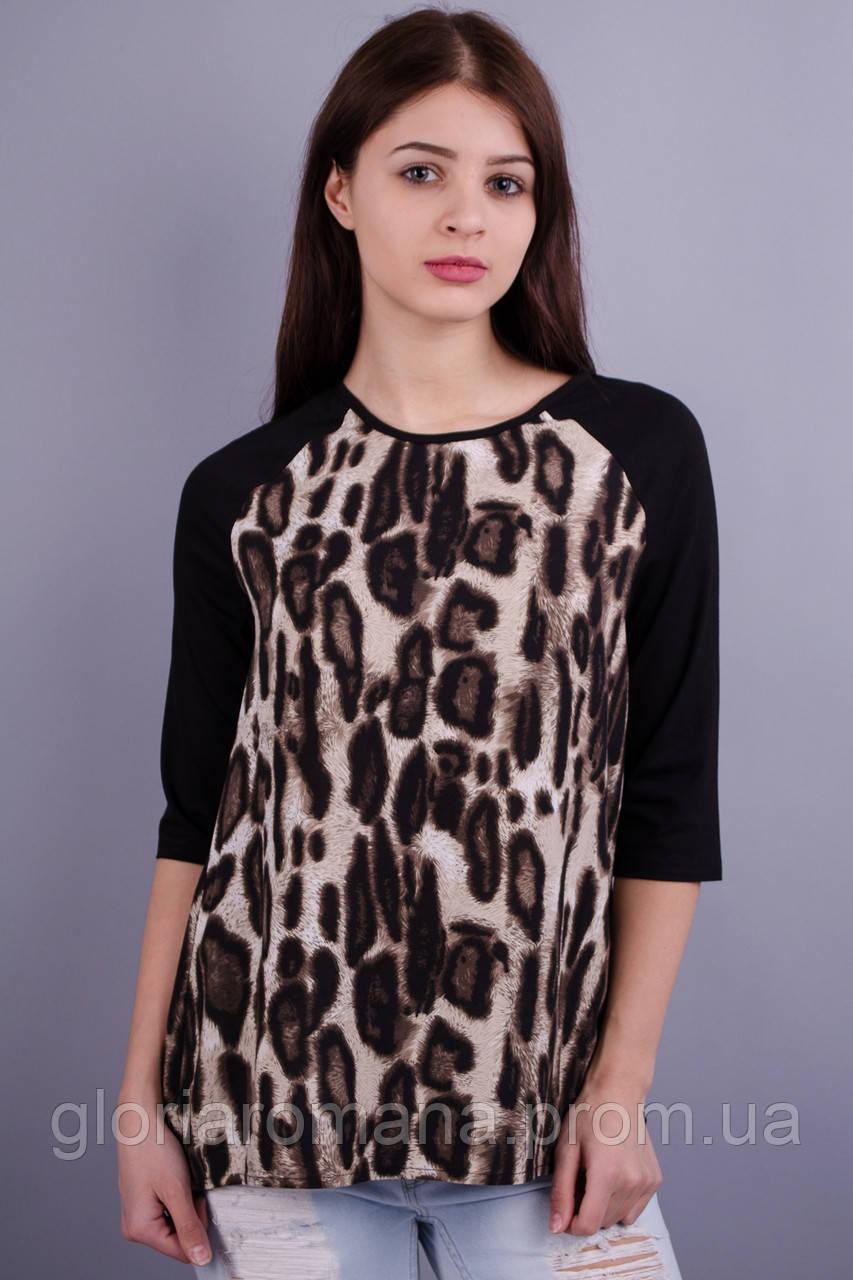 Бренди. Женская кофточка. Леопард.