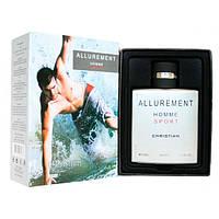 Christian Allurement Homme Sport 100мл Туалетная вода для мужчин