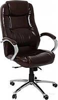 Кресло  AMF Мустанг Anyfix мадрас коричневый