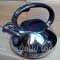 Чайник 3 л из нержавеющей стали со свистком Empire 9811BR