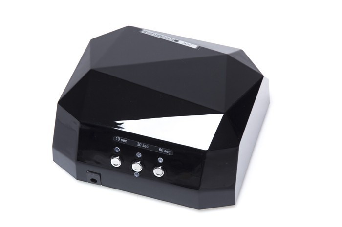 УФ Лампа для нігтів LED + CCFL 36 W Kodi+ black