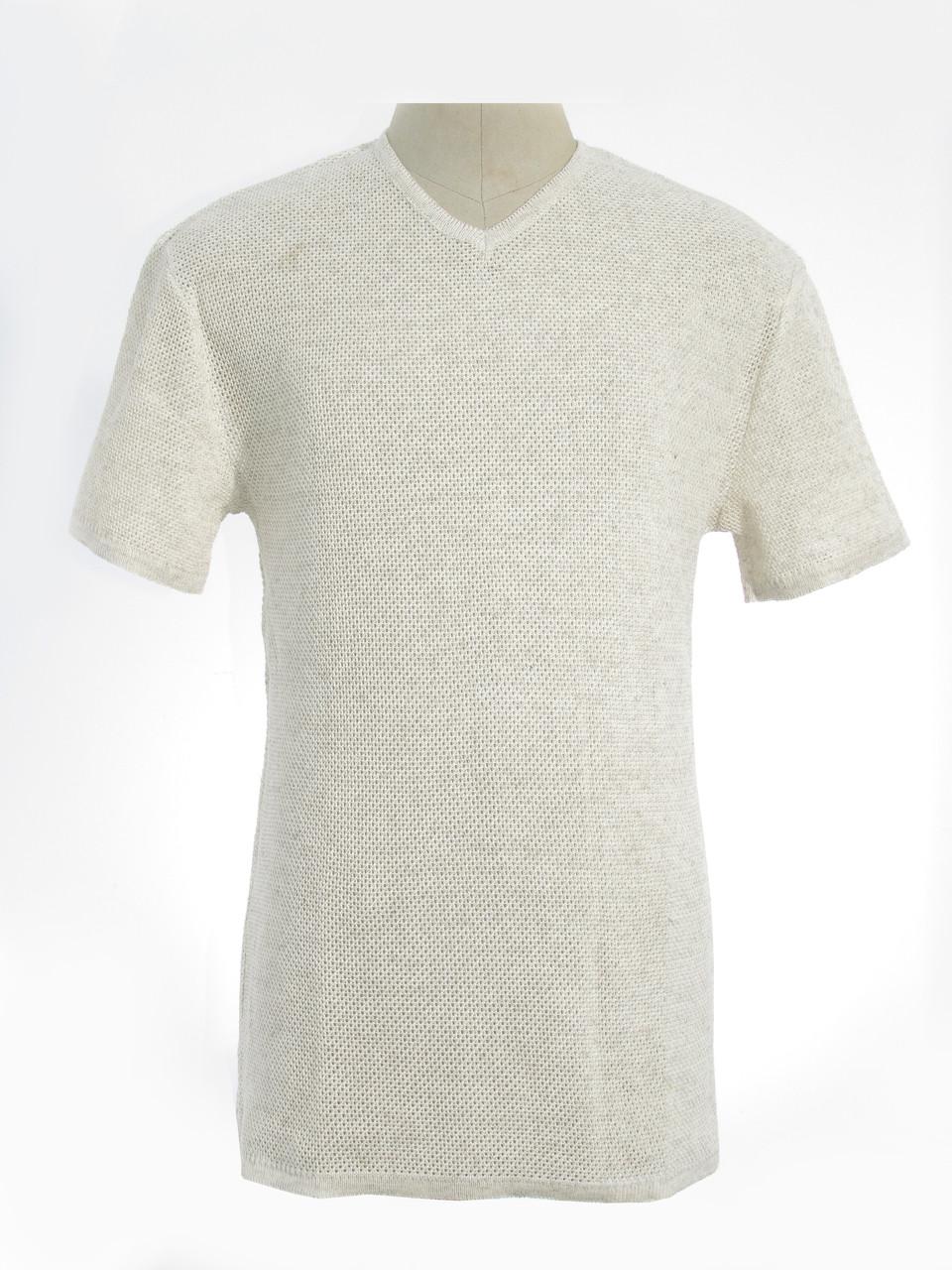 Мужская вязаная футболка 20309