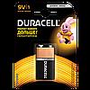 Батарейки Duracell - Basic 6LR61 Крона 9V 1/10/500шт