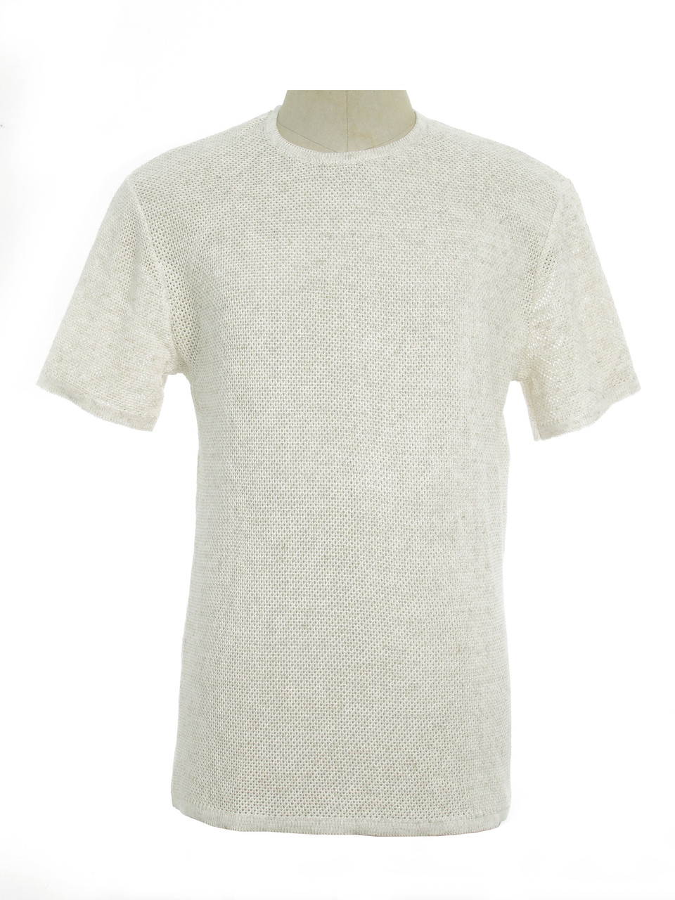 Мужская вязаная футболка 20312