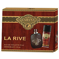 La Rive Cabana Подарочный набор для мужчин (Туалетная вода 90мл / Дезодорант 150мл)