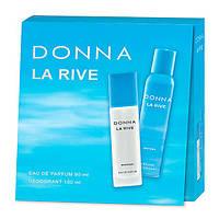 La Rive Donna Подарочный набор для женщин (Парфюмированная вода 90мл / Дезодорант 150мл)