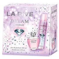 La Rive Dream Подарочный набор для женщин (Парфюмированная вода 100мл / Дезодорант 150мл)