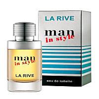 La Rive Man In Style 75мл Туалетная вода для мужчин
